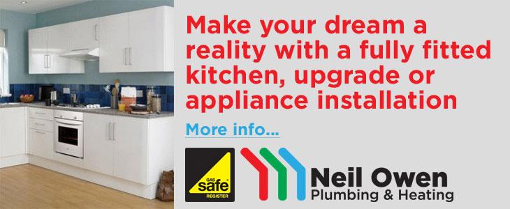 Kitchens from Neil Owen Plumbing & Heating